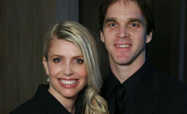 Stacia ja Luc Robitaille vuonna 2008.
