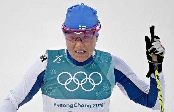 Pyeongchangin olympiakisat jäivät Aino-Kaisa Saarisen viimeisiksi arvokisoiksi.