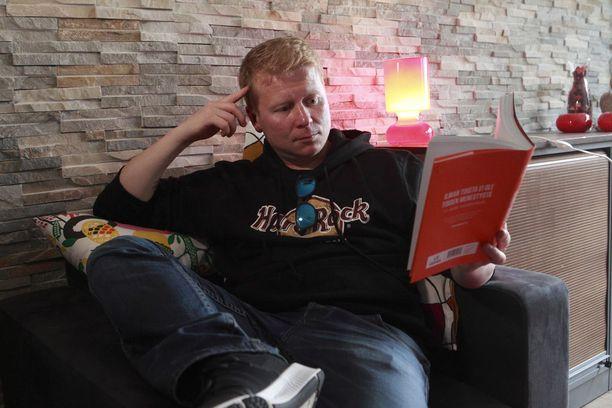 Espanjan-loman jälkeen yrittäjä on ensimmäistä kertaa vuosiin pystynyt keskittymään lukemiseen.