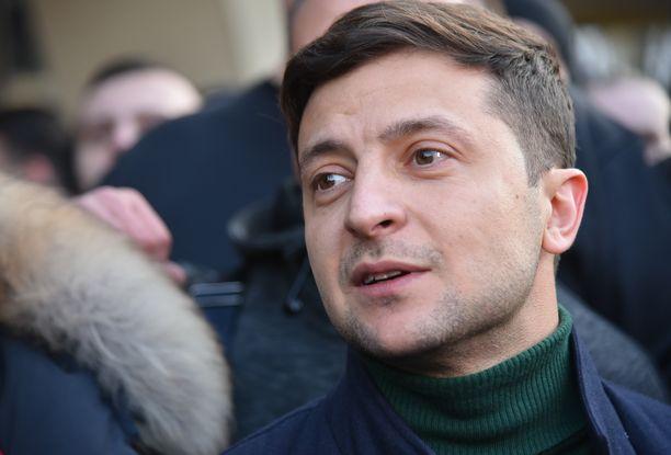 Volodomir Zelenskii on nuorten suosiossa.