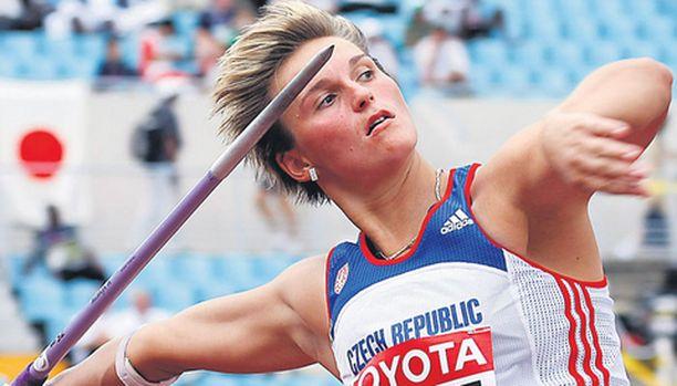 Barbora Spotakova on vahva mitalisuosikki.