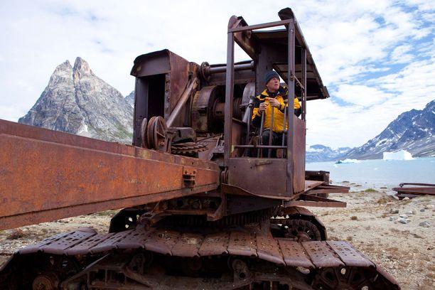 Grönlannissa sodan aikana toimineen Bluie East -tukikohdan kalustoa on yhä jäljellä.