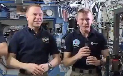 """Astronautti osallistui Lontoon maratonille kansainvälisellä avaruusasemalla - """"Ei mikään pieni temppu"""""""
