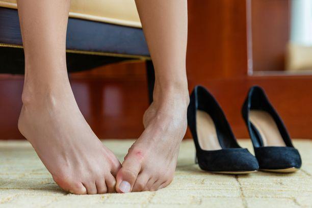 Kun jalkaterä vaivaa, koko olo on kurja.