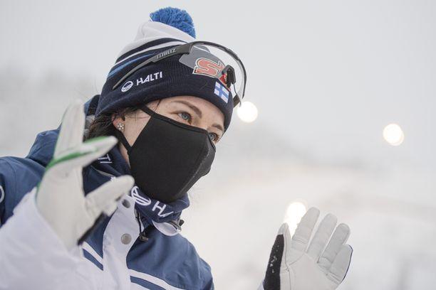 Krista Pärmäkoski kilpailee seuraavan kerran lauantaina Lahden maailmancupissa 15 kilometrin yhdistelmähiihdossa.