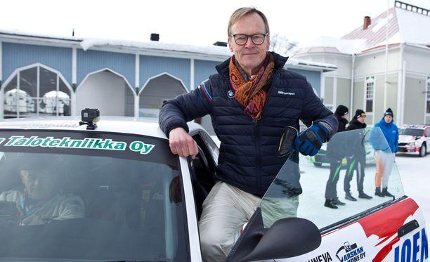 Ari Vatanen pääsi etuautoksi SM-ralliin.