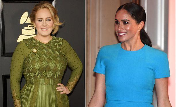 Brittilehti The Mirrorin mukaan Adelesta ja Meghanista on tullut ystävät.