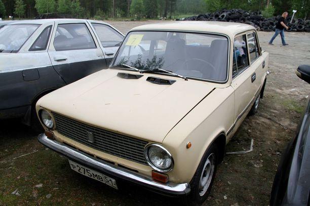 Nappisilmä Lada on yksi halutuimmista huutokauppatavista autoista.