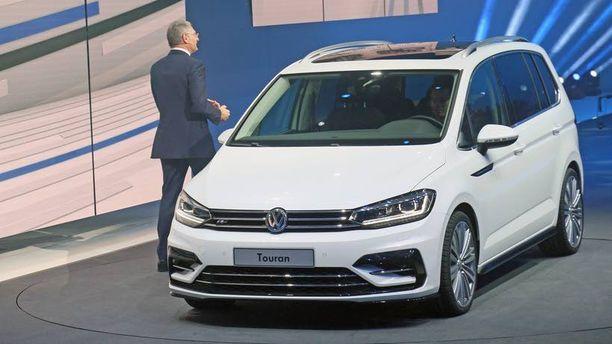 Volkswagen Touran on nyt täysin uusi.