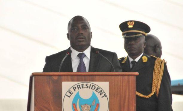 Kongon presidentti Joseph Kabila halutaan pois vallasta.