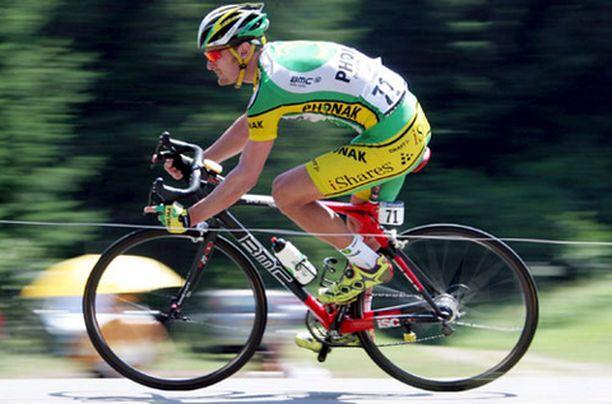 Etappivoitto oli Floyd Landisin uran ensimmäinen Tour de Francella.