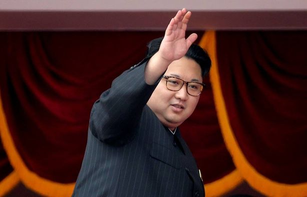 """""""Suuri johtaja"""" Kim Jong-un, 32, isännöi ensimmäisen puoluekokouksensa. Edellinen pidettiin vuonna 36 vuotta sitten, ennen hänen syntymäänsä vuonna 1980."""