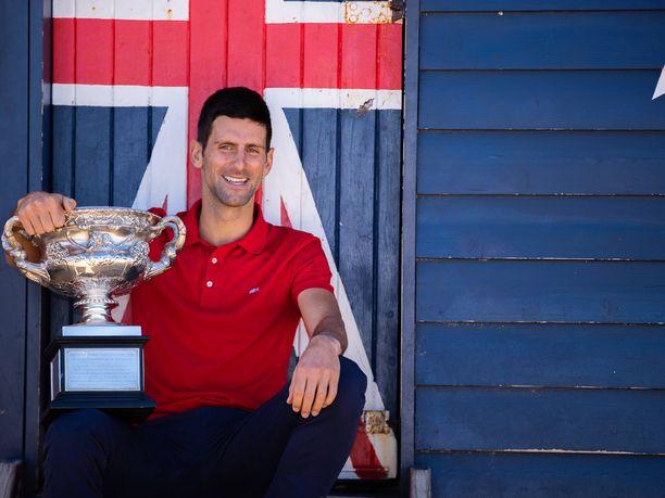 Novak Djokovic oli päätyä katalan juonen uhriksi.