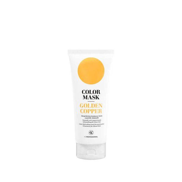Väriä voi kirkastaa kampaamokäyntien välissä sävyttävillä shampoilla ja naamioilla. Valitse sävy, joka on mahdollisimman lähellä hiustesi väriä. KC Professionalin Color Mask -tehohoito virkistää hiusväriä ja tuo hiuksiin kiiltoa, 6,20 e.