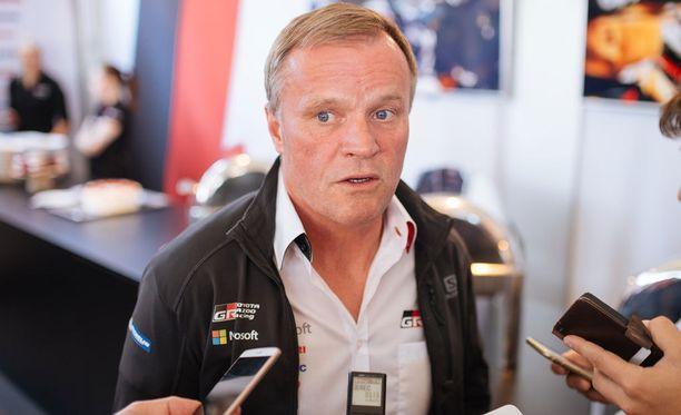 Tommi Mäkinen piti Toyotan rallikautta onnistuneena.