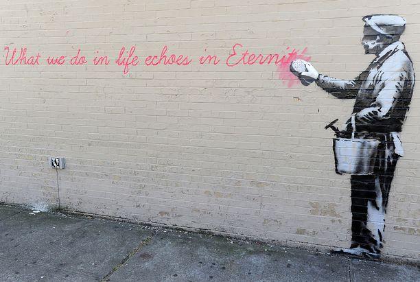Banksyn on epäilty olevan myös bristolilainen Robin Gunningham.