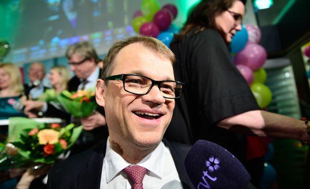 Juha Sipilä kruunattiin koko maan äänikuninkaaksi.