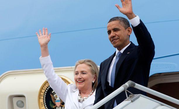 Barack Obama näkee Hillary Clintonin olevan hänelle erinomainen seuraaja.