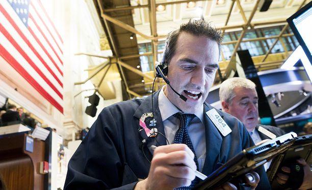 New Yorkin pörssin perjantai sujui pessimistisissä tunnelmissa.