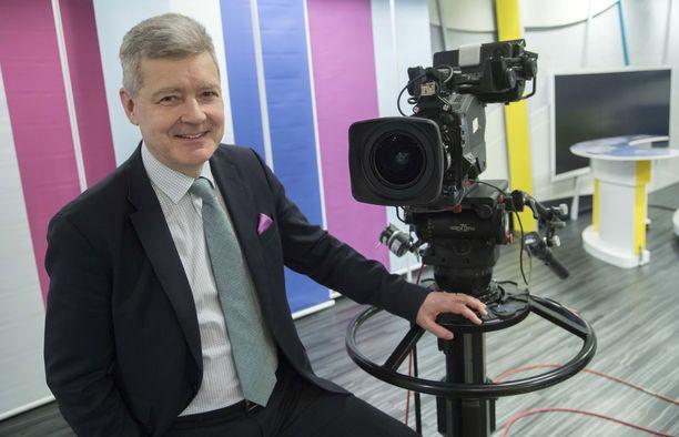 Lauri Kivinen toimi Yleisradion toimitusjohtajana vuosina 2010–2018.