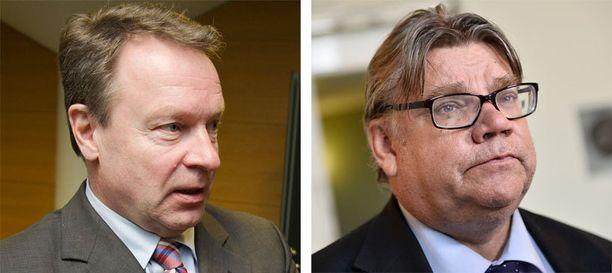 Etyj:n yleiskokouksen puheenjohtaja Ilkka Kanerva ja eduskunnan ulkoasiainvaliokunnan puheenjohtaja Timo Soini pitävät Minskin kokousta erittäin tärkeänä.