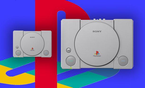 Playstation Classic on alkuperäistä esikuvaansa 45 prosenttia pienempi.