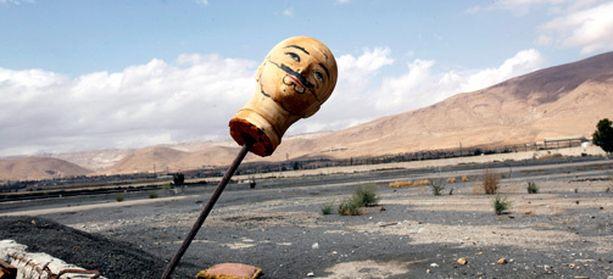 Syyrian kapinalliset olivat asettaneet mannekiinin pään salaisen tunnelin merkiksi Damaskoksen lähellä.