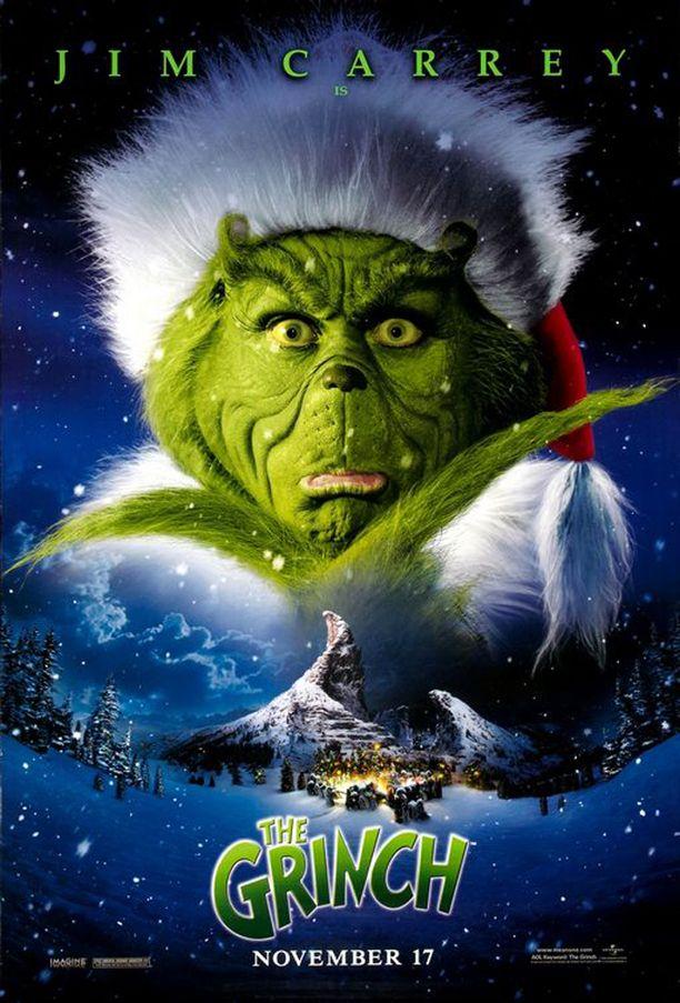 Poliisitiedotteesta ei käy ilmi, oliko anastettujen jouluelokuvien joukossa Jim Carreyn tähdittämä The Grinch vuodelta 2000.