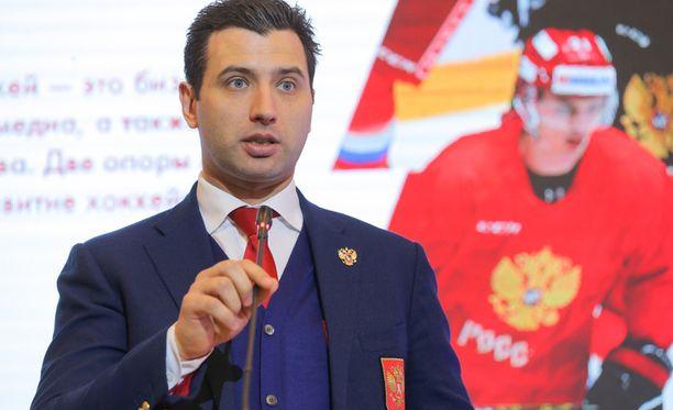Roman Rotenberg sanoo, että Venäjä valmistautuu normaalisti olympiakiekkoon.