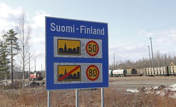 Sekavasti käyttäytynyt mies aiheutti häiriön Suomen ja Venäjän rajanylityspaikalla Niiralassa. Kuvituskuva.