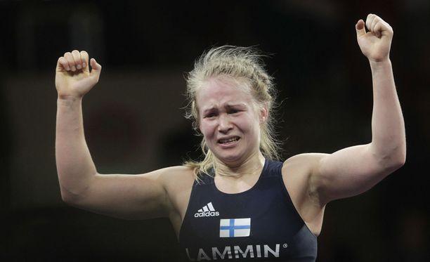 Petra Olli sijoittui toiseksi isossa kansainvälisessä turnauksessa, joka pidettiin Ruotsissa tänä viikonloppuna.
