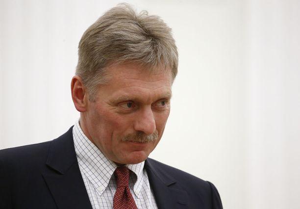Myös Kremlin tiedottaja Dmitri Peskov itse päätyi Yhdysvaltain listalle vaikutusvaltaisista venäläisistä.