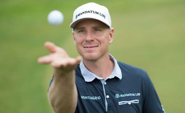 Roope Kakon golfura on hyvässä nosteessa.