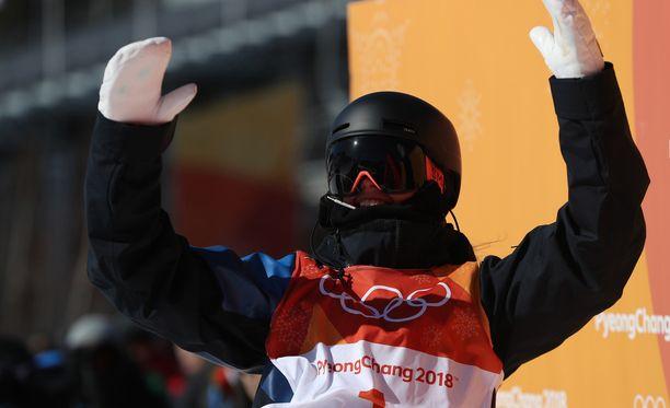 Jennie-Lee Burmansson oli Ruotsin paras slopestyle-laskija Pyeongchangissa.
