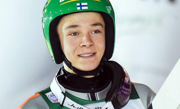 Eero Hirvonen teki hyvän suorituksen Rukalla.