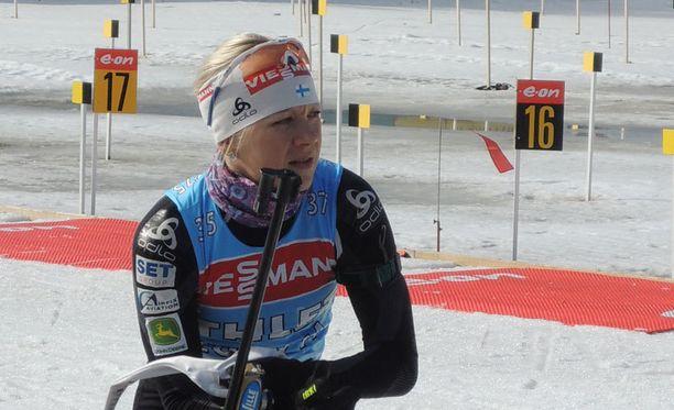 Kaisa Mäkäräistä ei Reijo Jylhän mukaan nähdä Jämillä ja Falunissa.