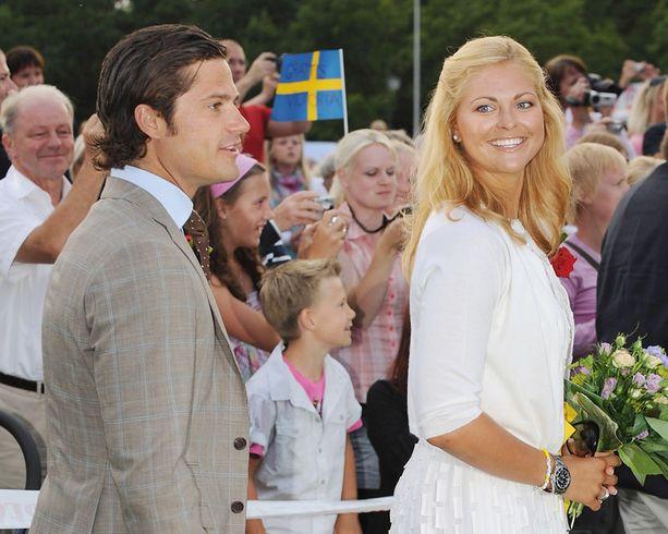 Nähdäänkö juhlissa tunnetusti bilettämistä rakastava prinsessa Madeleine?