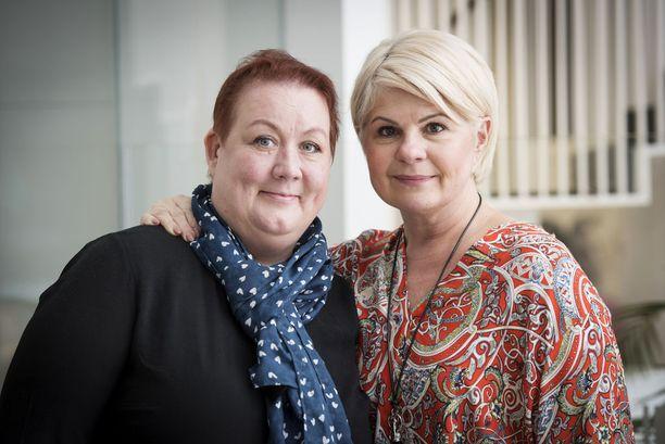 Marina Seligson on Marin hyvä ystävä. Hän on sairastanut rintasyövän.