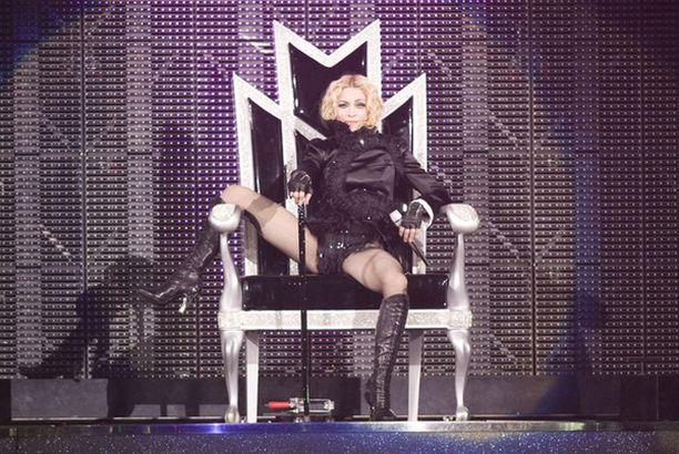 Madonnan keikkapaikka Jätkäsaaressa vetää 80 000 katsojaa.