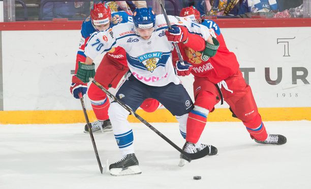 Teemu Hartikainen pelasi Leijonissa viime vuoden Karjala-turnauksessa.