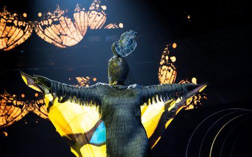 Masked Singerin kolmas hahmo paljastui – maskin takana oli entinen malli