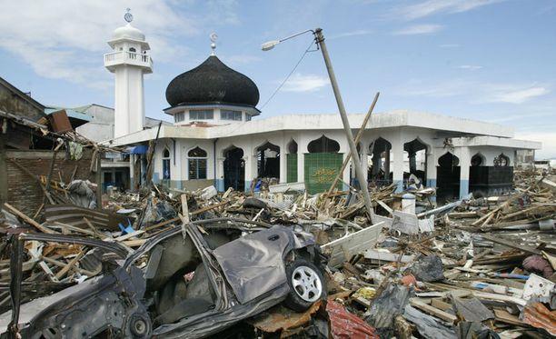 Acehin alue kärsi valtavista tuhoista.