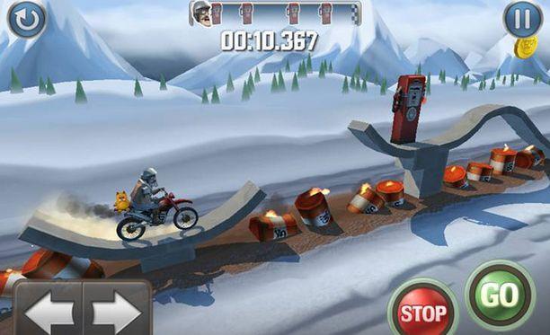 Bike Baron on saatavilla sekä iPhonelle että iPadille