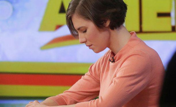 Amanda Knox on Italiassa tuomittu aiemmin sekä syyttömäksi että syylliseksi brittiläisen vaihto-opiskelijan Meredith Kercherin murhaan.
