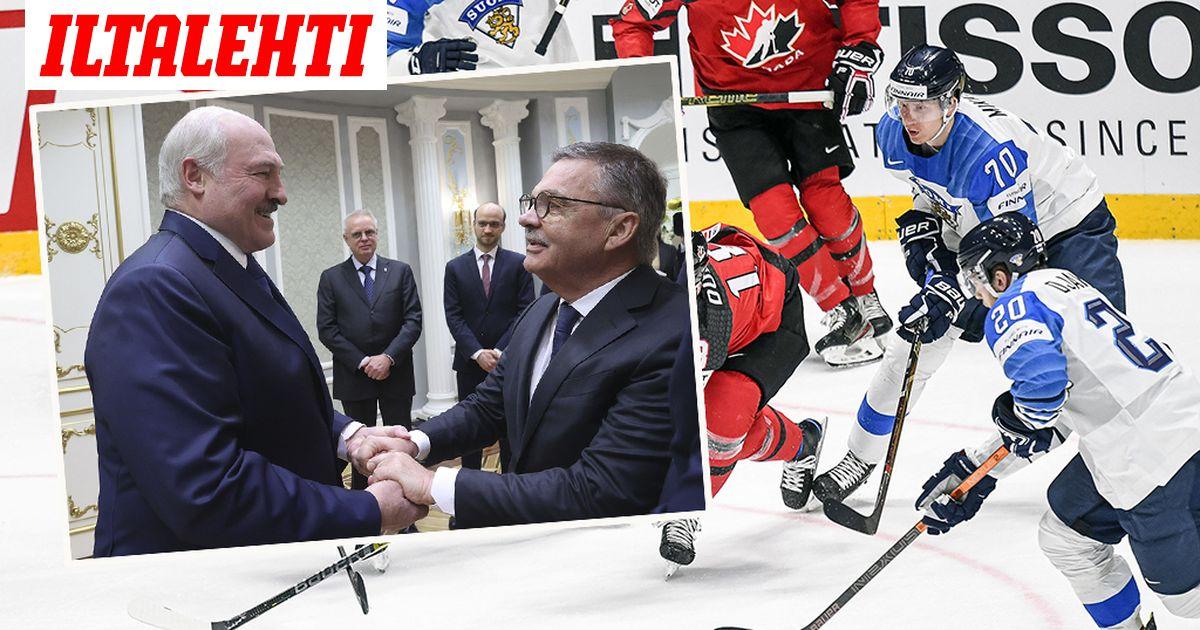 Suomi vastustaa jääkiekon MM-kisojen pelaamista Valko-Venäjällä  tuleeko...