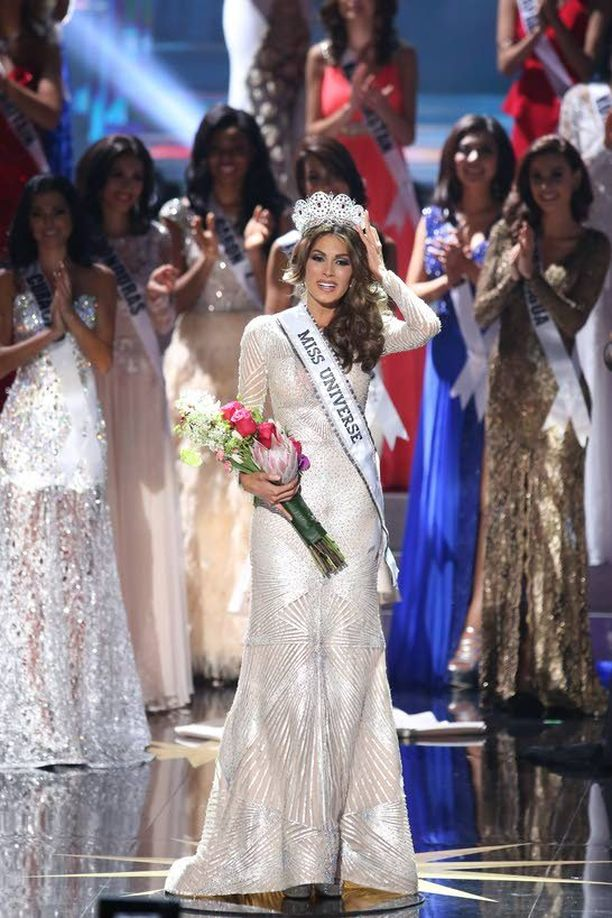 Uusin Miss Universum Gabriela Isler tulee Venezuelasta.