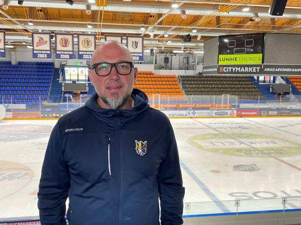 Sergei Krivokrasov on uusi kasvo SM-liigan valmentajaperheessä.
