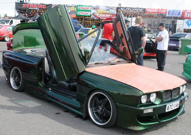 1. BMW 325 Cabriolet - Toni Rytkönen, Akaa