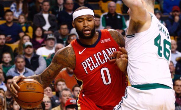 DeMarcus Cousins on yksi NBA:n pelätyimmistä senttereistä.