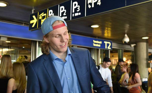 Patrik Laine pelasi maalivahtina vielä kuutisen vuotta sitten.